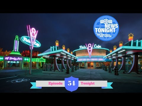 WDW News Tonight Episode 54 (6/14/2017) - Cars Land 5th Anniversary Special