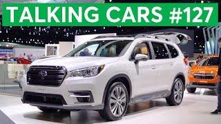 2017 LA Auto Show| Talking Cars with Consumer Reports #127