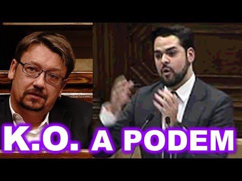 Este Diputado de CIUDADANOS DESMONTA la FARSA SEPARATISTA de PODEMOS en CATALUÑA