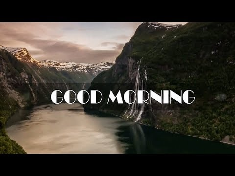 Good Morning Amazing Whatsapp Video HD