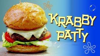 RESEP KRABBY PATTY   KRABBY PATTY RECIPE   SPONGEBOB SQUAREPANTS INSPIRED DISH   MOVIE RECIPE #2
