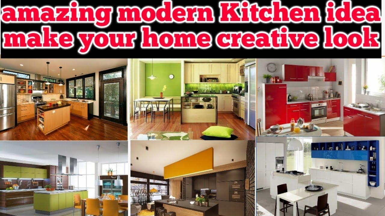 Amazing Modern Kitchen Designs Modular Kitchen Small Kitchen Smart Kitchen Rajtecinfo Tamil Youtube