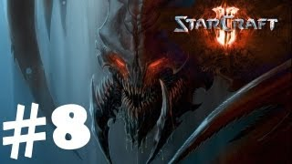 StarCraft 2 Heart of the Swarm Campaign Walkthrough Part 8 Gameplay Review Lets Play HD Hard PC