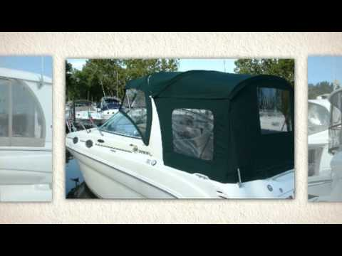 Replacement Sea Ray Canvas Boat Cover - Save $$ - SeaRayCanvas com