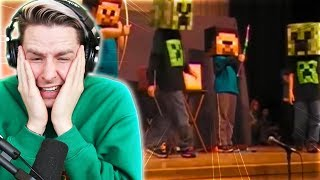 TRY NOT TO CRINGE Challenge MINECRAFT Show Edition