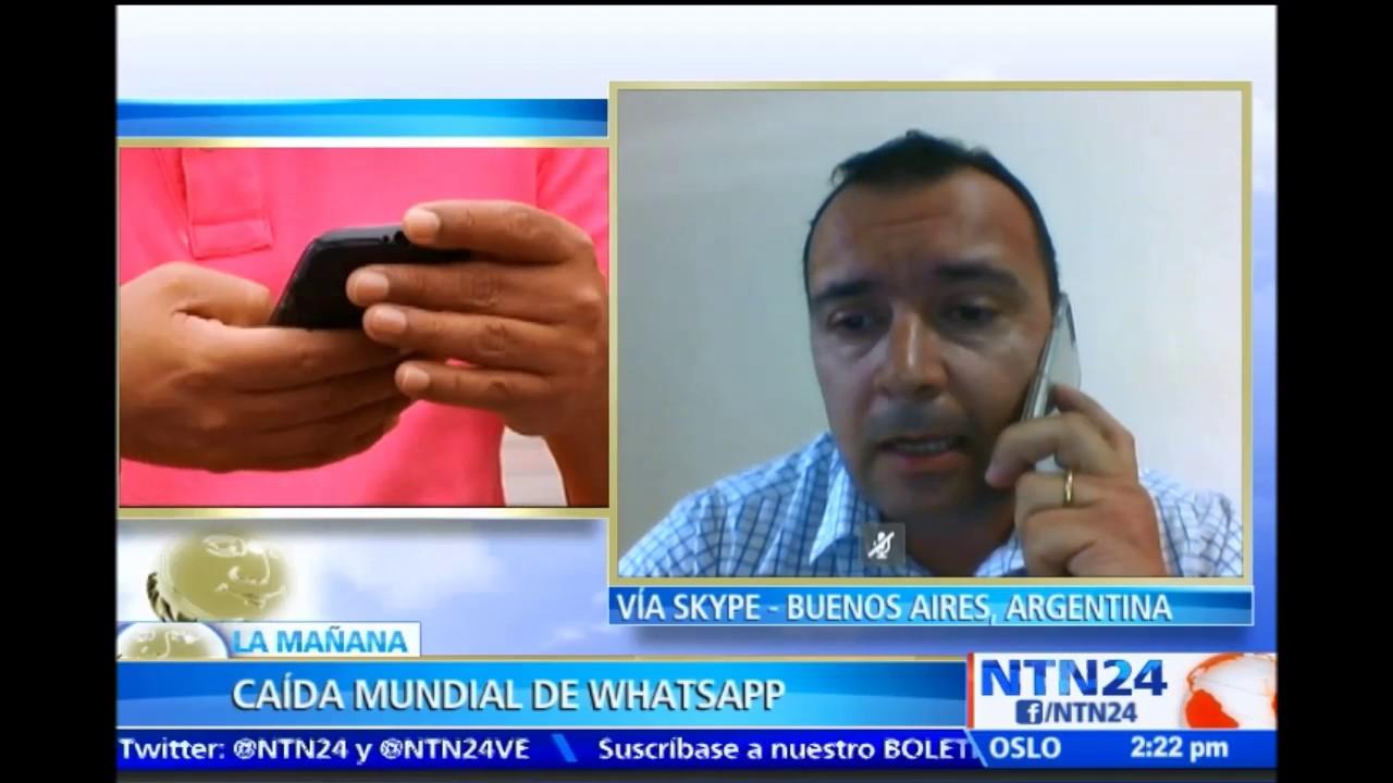Caida De Whatsapp Picture: Especialista En Tecnología Sobre Caída Habla Sobre Falla