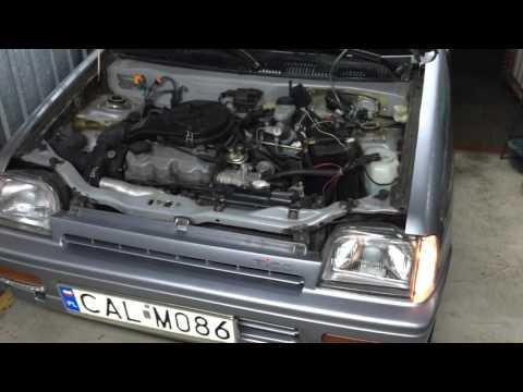 Daewoo Tico NEW SX-DLX 1998r - Zimowe przepalanie po 3-ech miesiącach postoju w garażu.