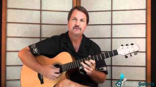 Wreck of Edmund Fitzgerald Guitar Lesson Preview - Gordon Lightfoot