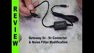 USB Powered Camera Power Adaptors - Safety Conversion & Noise FIlter