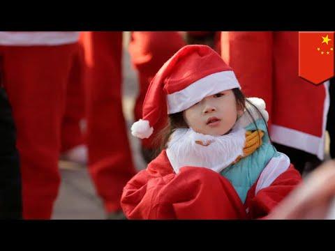 Kota di Cina larang natal di sana - TomoNews