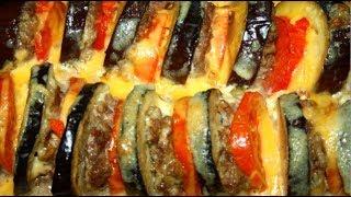 Как ВКУСНО приготовить Баклажаны в Духовке с фаршем, помидорами и сыром