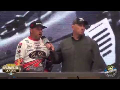 2015 Bassmaster Classic Day 3 Super Six Final Weigh-in