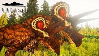 """O tricerátopo (Triceratops horridus, do latim """"cabeça com três chif..."""