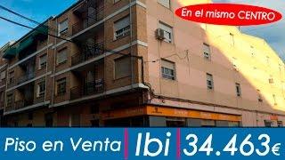Piso de Banco en venta en el centro de Ibi por sólo 34.463€