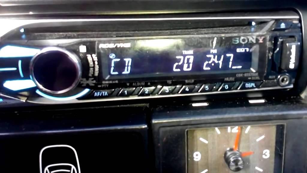 Автомагнитола sony drive s инструкция