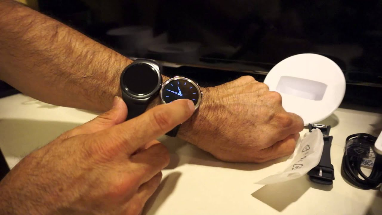 Samsung Gear S2 Dark Gray Unboxing and Review