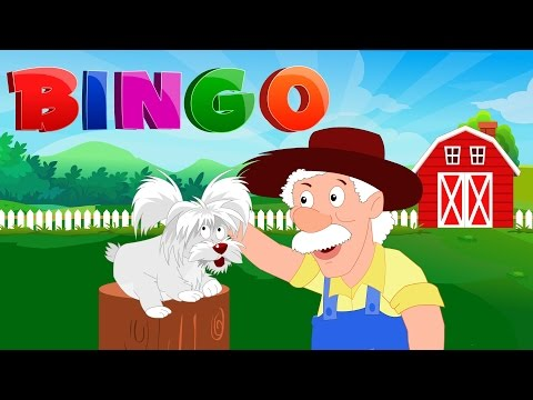 bingo-song-|-nursery-rhyme-for-toddlers-|-kindergarten-video-for-children-by-kids-tv