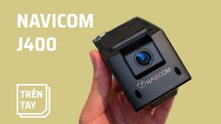Trên tay camera hành trình kiêm thiết bị giám sát Navicom J400