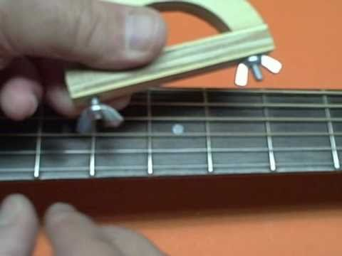 build the improved 99 cent guitar capo youtube. Black Bedroom Furniture Sets. Home Design Ideas
