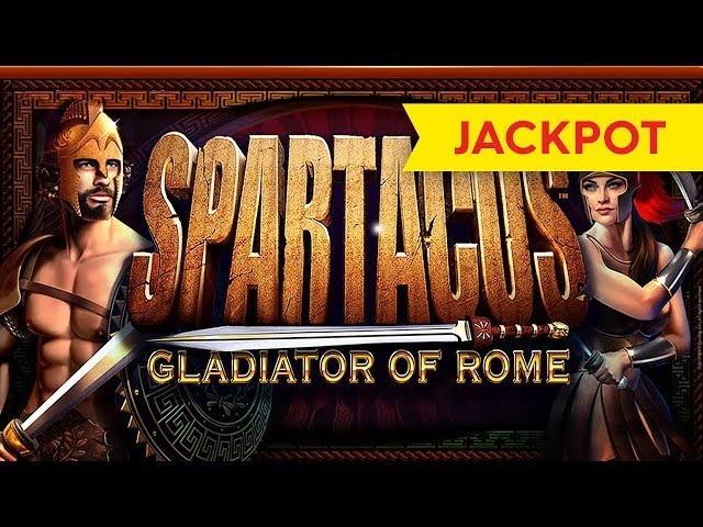 JACKPOT HANDPAY! Spartacus Slot - $20 Max Bet - HIGH LIMIT ACTION!