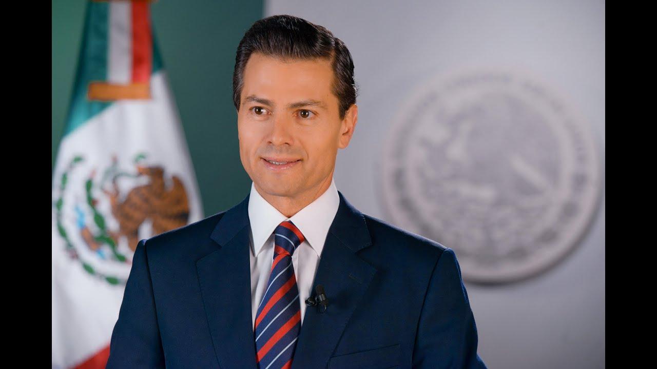 The Mexican president Enrique Pena Nieto