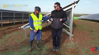 Estructuras monoposte y biposte para energía solar - Consejos de Javier Fernández-Font