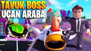 We've Slaughtered 🚀 Chicken Boss! We've got the flying car! 🐣 | Mad City | Roblox English