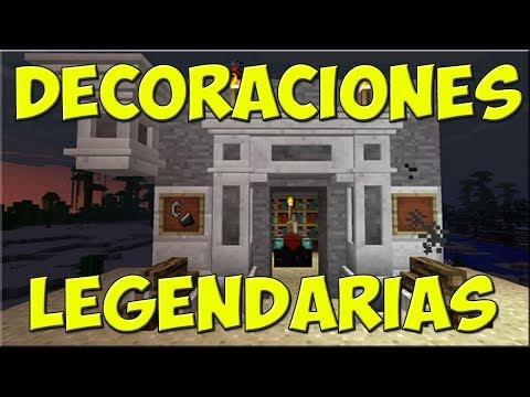 LAS MEJORES DECORACIONES DE MINECRAFT 1.14