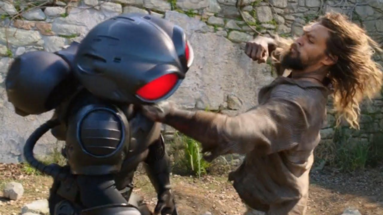 Aquaman 2018 - aquaman vs black manta fight scene