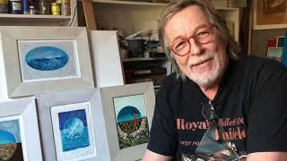 Joe Wandaller in Fenster Nr. 8 am Lienzer Kunstadventkalender