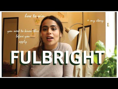 The Fulbright Scholarship: my experience + how to apply . كيف تحصل على منحة فولبرايت للدراسة بأمريكا