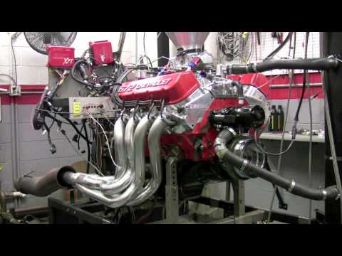 Chevrolet 572 Crate Engine On The Engine Dyno