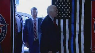 VP Mike Pence enjoys lunch with Gov. Brian Kemp in Atlanta