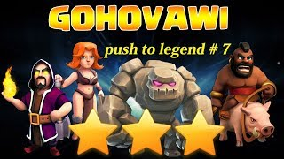 TH9 PUSHING TO LEGEND WITHOUT HEROES | #EPISODE 7 | CLASH OF CLANS | ATTACK REPLAYS