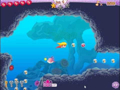 Lovely Mermaid Ocean Song (Прекрасная русалка в океанической бродилке) - прохождение игры