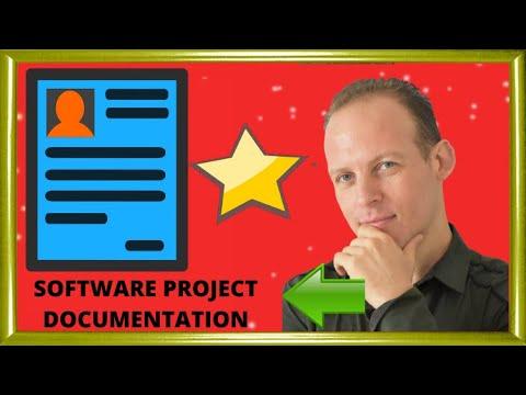 how to write software documentation