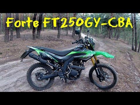 Forte FT250GY-CBA - Обзор и тест-драйв