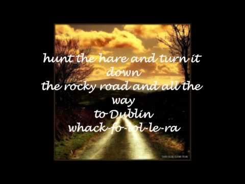 Rocky Road to Dublin - Irish Descendants KARAOKE