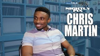 Chris Martin talks Usain Bolt friendship, being good w/ Ce'Cile + 10 years in music @NightlyFix