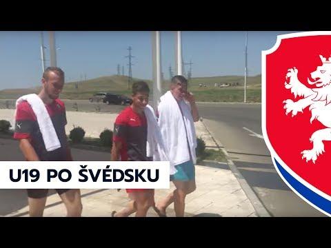 Česká reprezentace do 19 let na ME v Gruzii - den po zápase se Švédskem (3. 7. 2017)