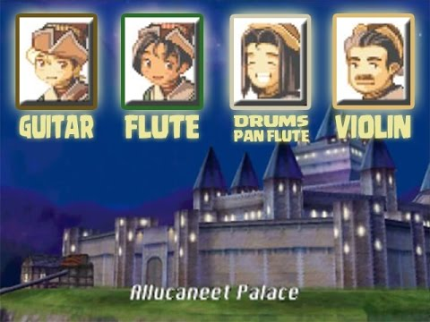 Allucaneet Palace Theme (ALL instrument combinations) •• Brave Fencer Musashi