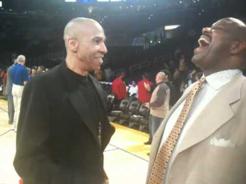 2010 NBA Finals: Mychal Thompson & Cedric Maxwell