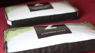 SHREDDED LATEX PILLOW with Bamboo Cover Z by Malouf