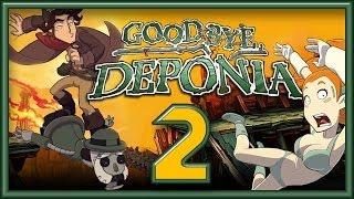 видео Deponia 3 (Goodbye, Deponia): прохождение игры