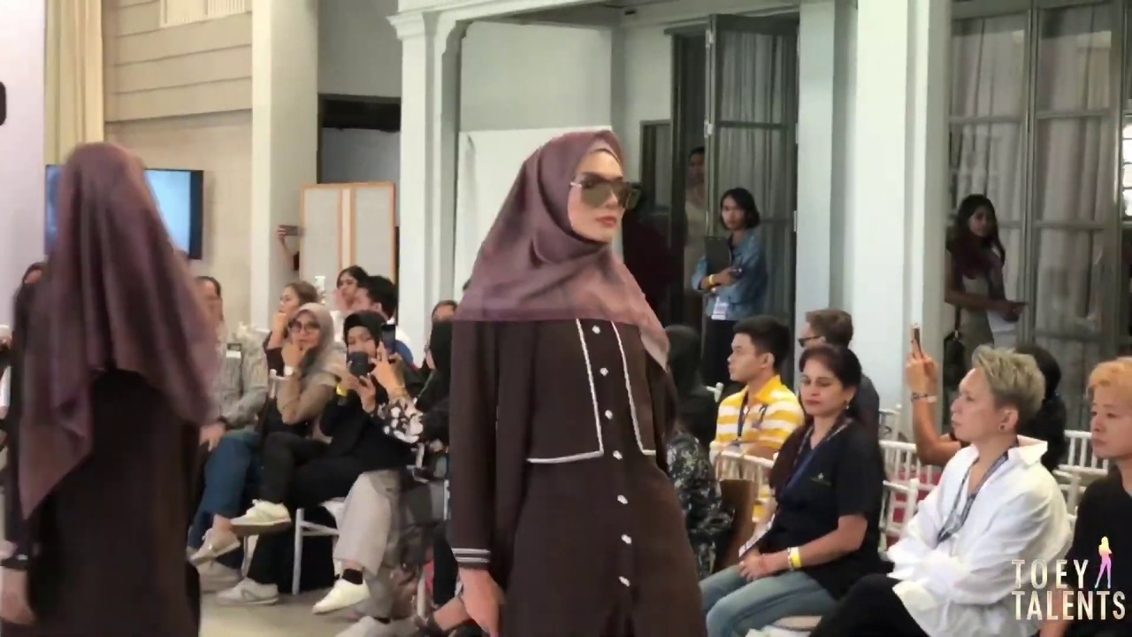 DESIGNER NINA NUGROHO (INDONESIA) COLLECTIONS AT THAILAND FASHION WEEK 2019 | TOEY TALENTS