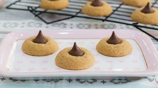 Peanut Butter Blossoms Cookies - Receta en un minuto - María Lunarillos | tienda & blog