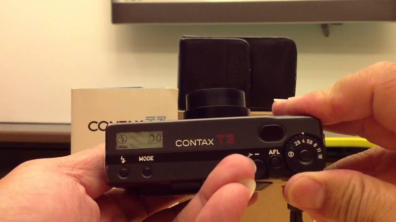 CONTAX T3 Black by Marco - YouTube