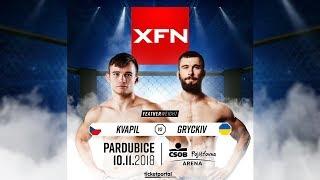 Tomáš Kvapil vs Igor Gryckiv | XFN 13 Pardubice