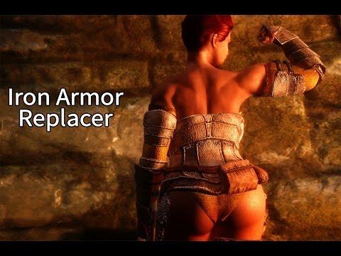 Skyrim HDT Armors - Iron Armor Replacer