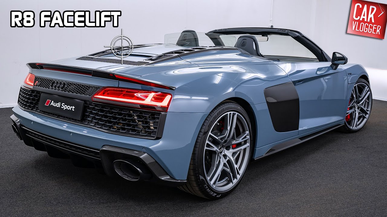 INSIDE the NEW Audi R8 Spyder V10 Performance 2019 ...